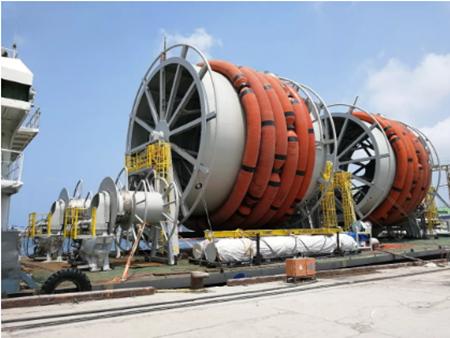 大船集团船业公司交付MV30-FPSO艏艉卸载系统