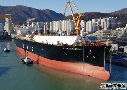 大宇造船为Flex LNG建造第6艘LNG船开始气试