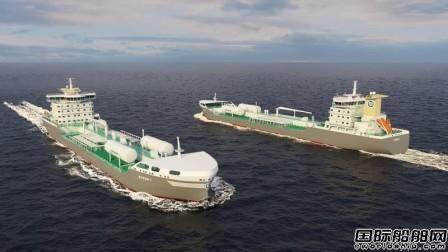 国鸿液化气获得化学品船LNG供气系统合同