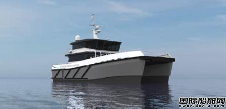 Seacat Services订造第2艘Chartwell 24双体风场船