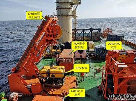 振华重工自主研制ROV系统正式投入商用