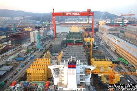 现代重工造船业务成功扭亏为盈