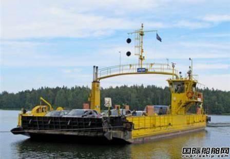 肖特尔为FinFerries公司3艘双头渡船升级改装