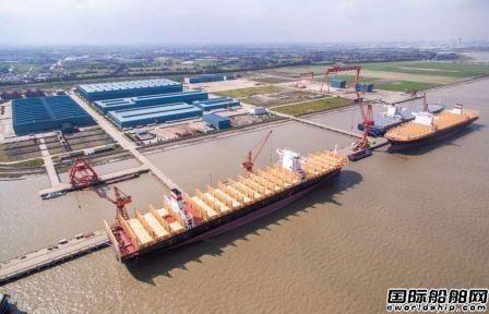 中国最好船厂来了!扬子三井造船启动运营