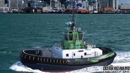 达门将建造全球首艘全尺寸全电动港口拖船