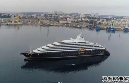 破产船厂Uljanik交付全球首艘超豪华探险游艇