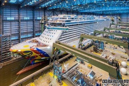 "Meyer Werft建造""Norwegian Encore""号邮轮即将出坞"