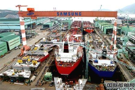 韩国船企连续3月接单量排名全球第一