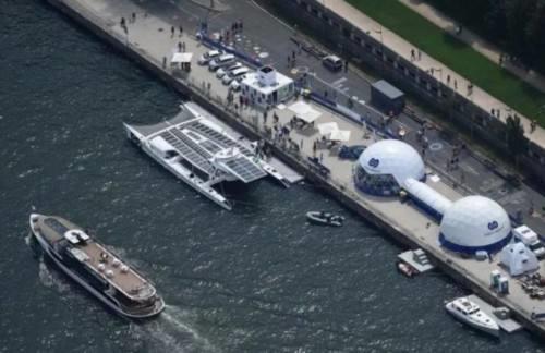 酷炫的氢动力船未来或可直接用海水作燃料