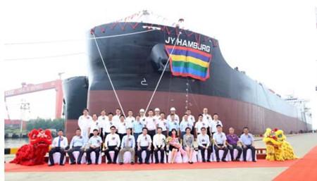 今年第13艘!中船澄西再交一艘820000吨散货船