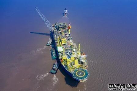 启东中远海运海工交付首个浮式生产储油船改装项目