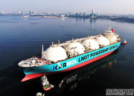 商船三井联手Karpowership研发全球首艘商业LNG发电船