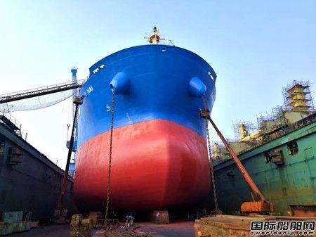 """大连中远海运重工完成""""新瑞海""""轮压载水系统改造工程"""