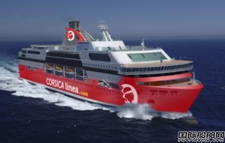 Corsica Linea订造首艘LNG动力客滚船