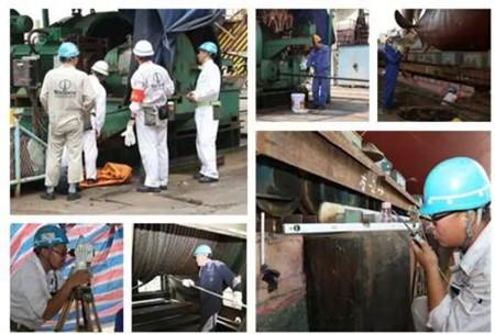 广东中远海运重工一艘1750TEU集装箱下水