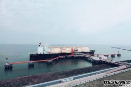 中国石化天津接收站成功接卸第100船LNG