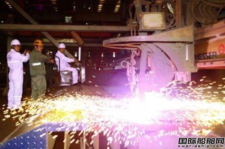 新港船舶重工第三艘32.5万吨矿砂船开工