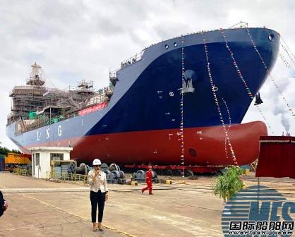 南通吉宝船厂1艘在建LNG船起火无人伤亡