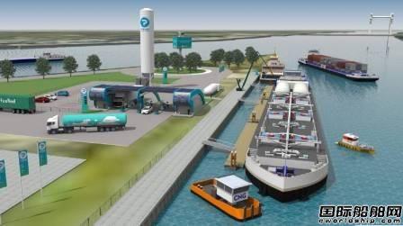 欧洲首个岸对船LNG加注站开通