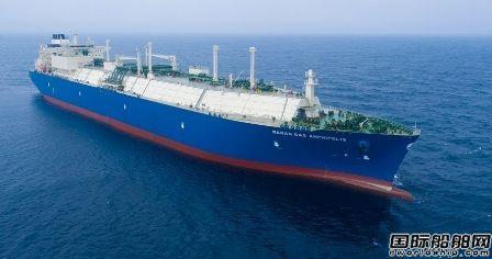 大宇造船获Maran Gas今年第6艘LNG船订单