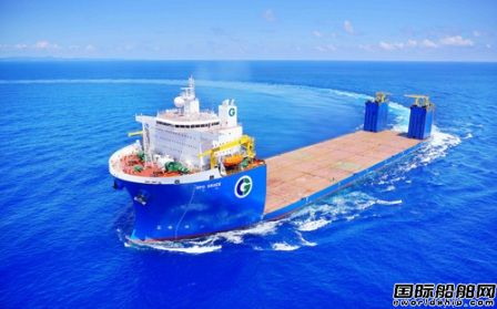 振华重工在台湾造船?台船1艘65000吨半潜船命名