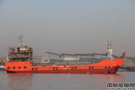 正屿船舶交付一艘65米登陆艇