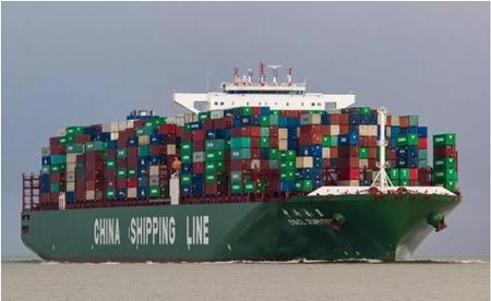 中远海运旗下一艘集装箱船被撞船体受损