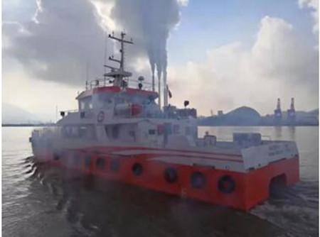 东南造船交付一艘风电运维服务船