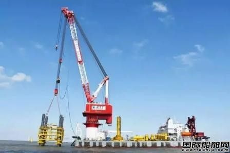 中天海洋工程圆满完成华能江苏大丰海上风电沉桩施工