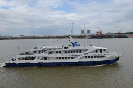 湘船重工连创造船多项历史纪录