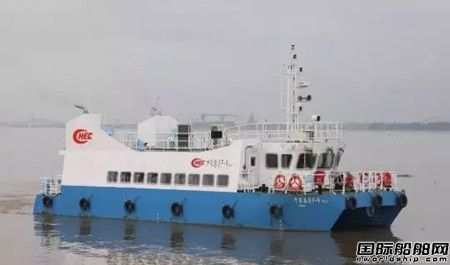 航通船业交付中国港湾最后一艘96客位交通艇