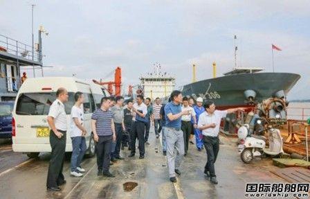 可以修外轮了~紫金山船厂码头对外开放通过省级验收