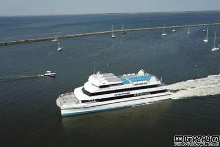 Incat Crowther再获美国Seastreak渡船设计合同