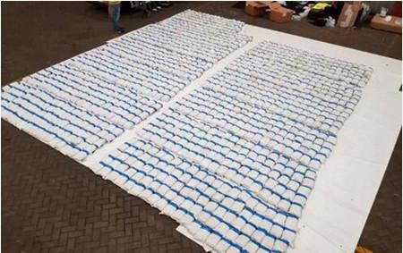 突发!马士基集装箱船被查获1.3吨海洛因