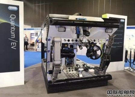 中车推出全球最强超级水下机器人ROV