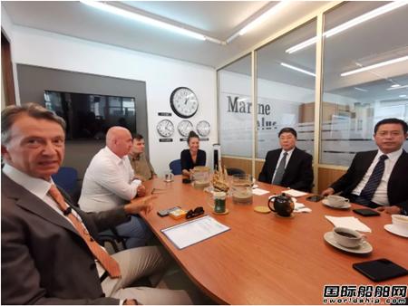 青岛双瑞董事长刘艳江率团希腊开展船东交流活动