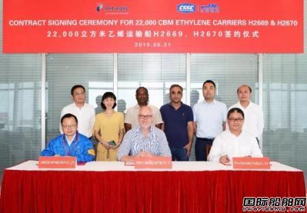 """江南造船与""""老客户""""签订最多4艘22000方LEG船"""