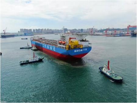 """北船重工承建""""海洋石油119""""FPSO顺利交付"""