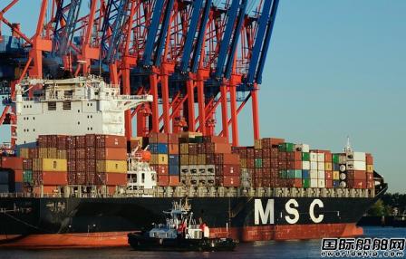 地中海航运否认租赁6艘LNG动力大型集装箱船