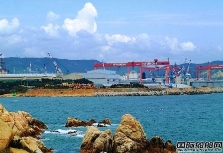 现代三湖重工获1艘LNG船订单