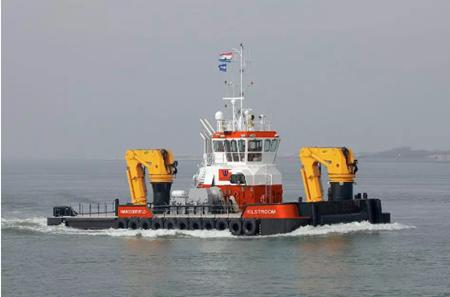 达门船厂接获一艘多功能工程作业船订单