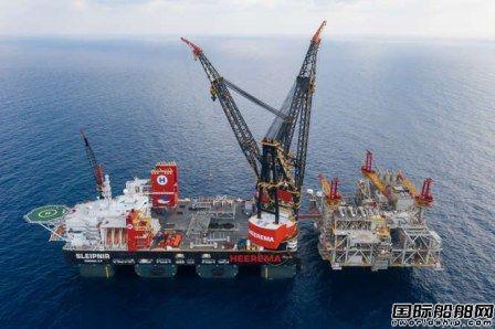 15300吨!全球最大起重船创吊重新纪录