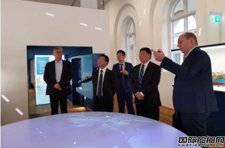 青岛双瑞董事长刘艳江率团在丹麦拜访战略客户