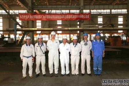 大连中远海运重工6.2万吨多用途纸浆船连续完成多个节点