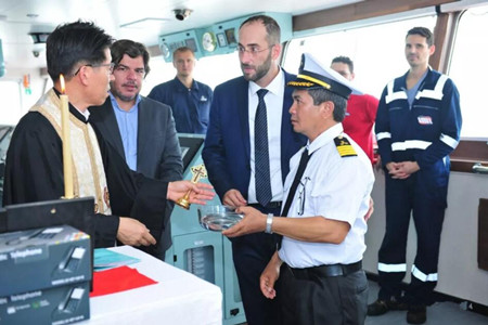 扬子江船业一周完成四大生产大节点