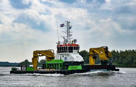 达门Hardinxveld船厂交付一艘多功能作业支持船