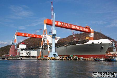 日本船企8月接单量同比大跌64%