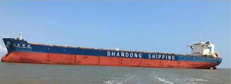 七一一所为山东海运好望角型散货船配备脱硫系统通过海试