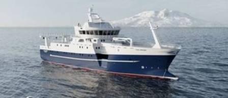 DMC获挪威新造拖网渔船操舵系统合同
