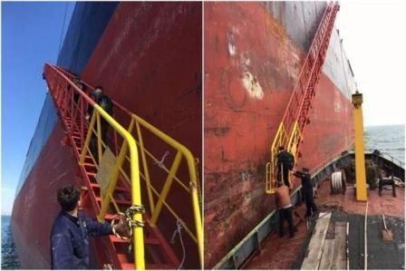 """外国船东将油轮更名为""""尊重""""向中国法官致敬"""